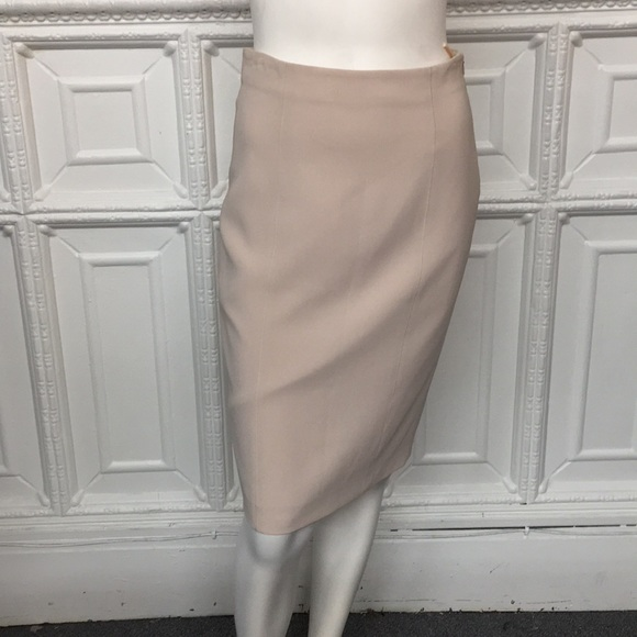 MaxMara Dresses & Skirts - MaxMara Blush/Cream High Waisted Pencil Skirt